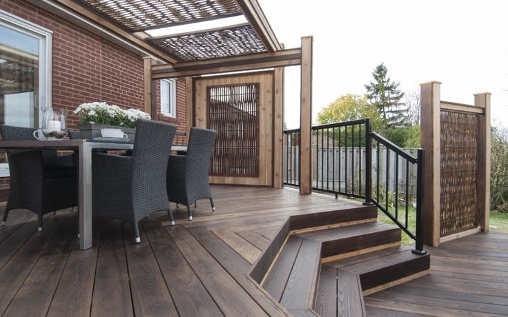 Thermory Ash decking. USA