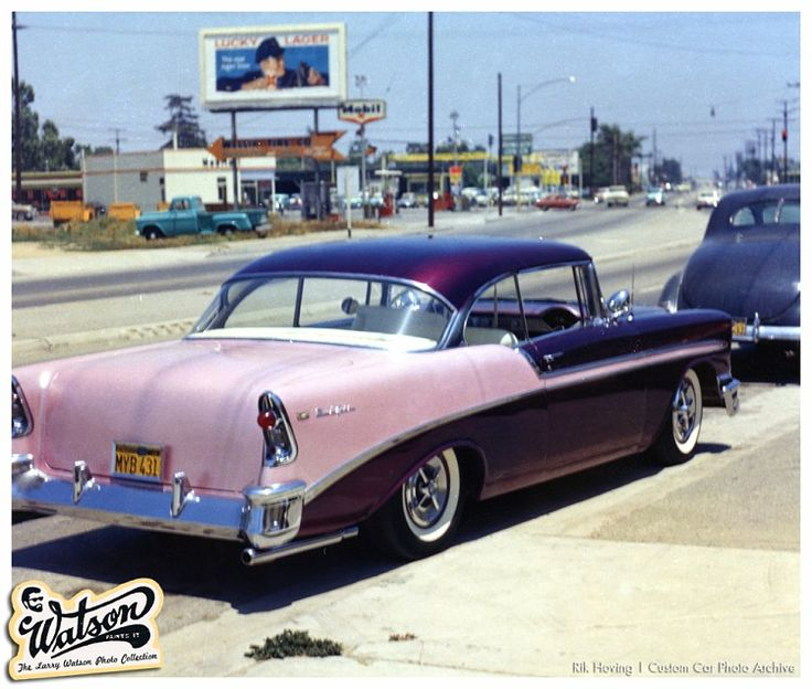 147 best tri fives images on pinterest vintage cars chevy and car rear view of john buzzy busmans 1956 chevy watson painted sciox Choice Image