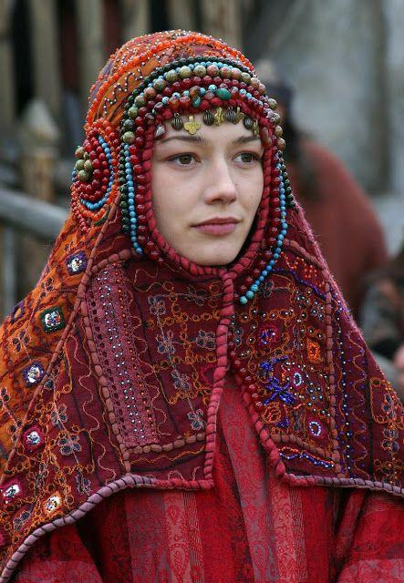 Costumes from Russian movie Волкодав из рода Серых Псов (Wolfhound of the Grey Hound Clan), 2006.