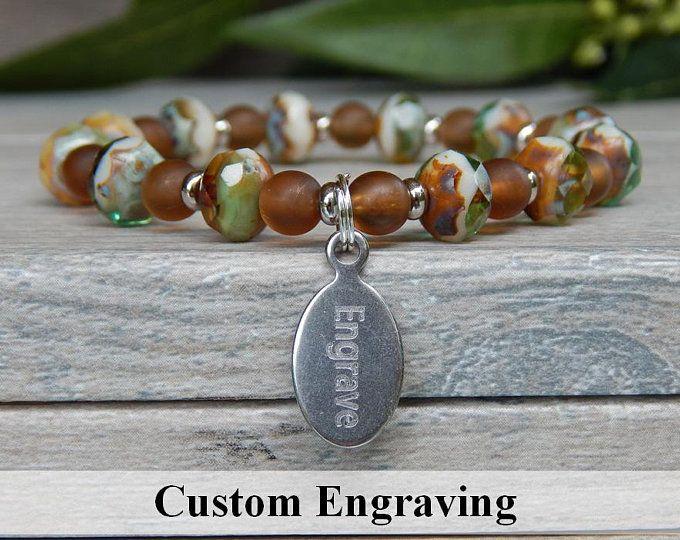 women/'s bracelet in natural cornaline stone Christmas gift idea for women customizable bracelet bracelet ideal for sister or friend