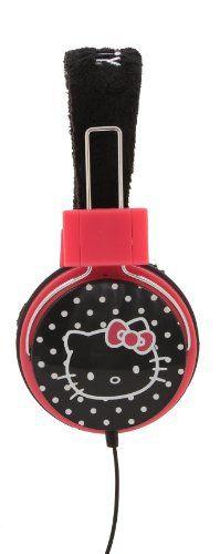 Hello Kitty Foldable Plush Headphones (35009) //Price: $ & FREE Shipping // World of Hello Kitty https://worldofhellokitty.com/product/hello-kitty-foldable-plush-headphones-35009/    #giftshop