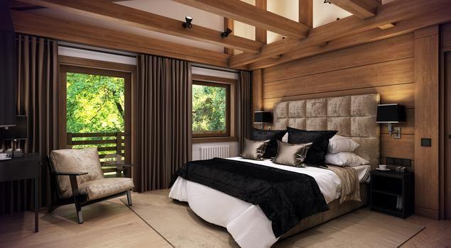 Oto i ona - klasyczna sypialnia w nowoczesnej odsłonie. #aranżacja #sypialnia