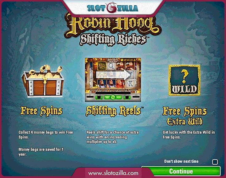 Robin Hood free #slot_machine #game presented by www.Slotozilla.com - World's biggest source of #free_slots where you can play slots for fun, free of charge, instantly online (no download or registration required) . So, spin some reels at Slotozilla! Robin Hood slots direct link: http://www.slotozilla.com/free-slots/robin-hood