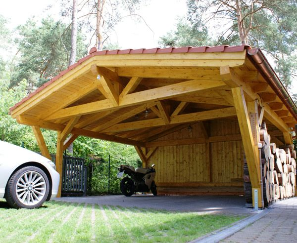 die besten 25 carport bausatz ideen auf pinterest holz carport baus tze carport garage und. Black Bedroom Furniture Sets. Home Design Ideas
