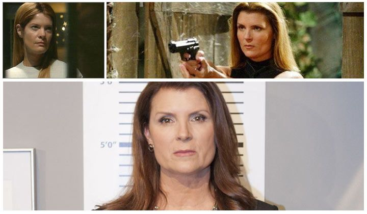 The Bold and the Beautiful's Kimberlin Brown (Sheila Carter) recalls the somewhat awkward moment The Young and the Restless had Michelle Stafford take over her popular daytime alter ego.