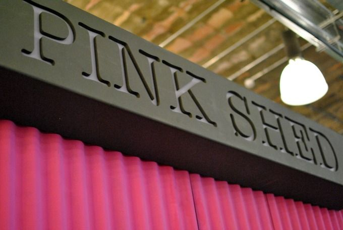 The Pink Shed - pop-up dining venue @ Trinity Leeds // Amy Elizabeth