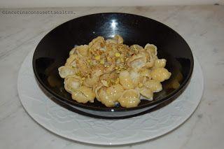 In Cucina con Susetta e altro...: PASTA GORGONZOLA E PISTACCHI  Un condimento divers...
