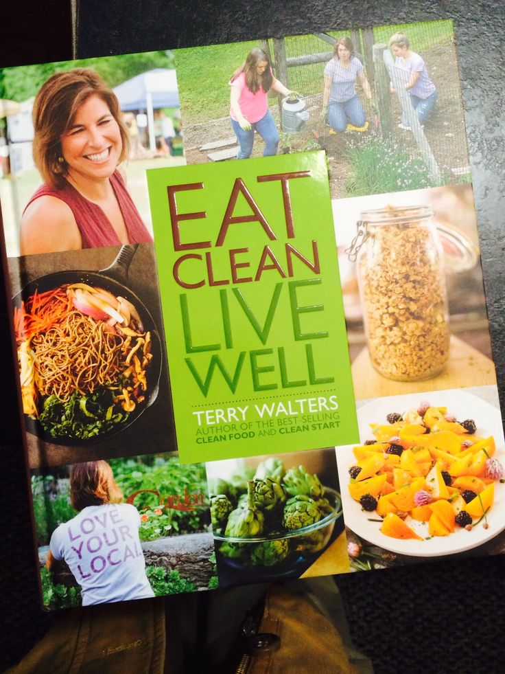 Eat Clean, Live Well is Terry Walters newest book. It's absolutely beautiful and chock-a-block with all kinds of hints, tips, and ideas to live Clean, with tons of great recipes!