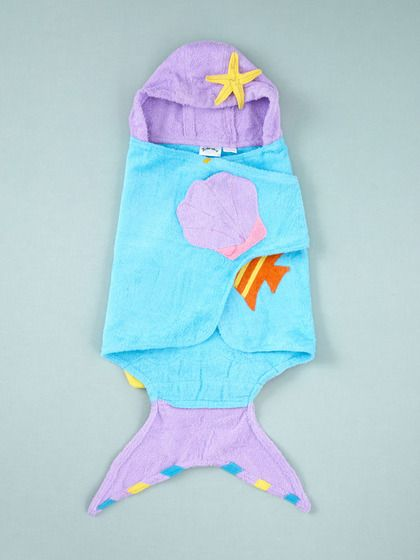 Mermaid towel - an adorable baby girl gift!