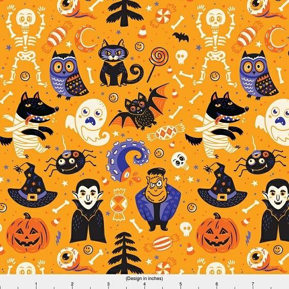 Halloween Ghouls & Monsters De Meri Keiser