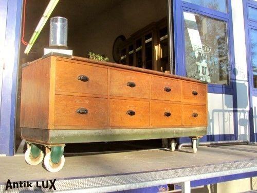 Coole Apothekerkommode Im Industriedesign Schrank Loft Mbel Kommode Anrichte In Antiquitten Kunst Mobiliar
