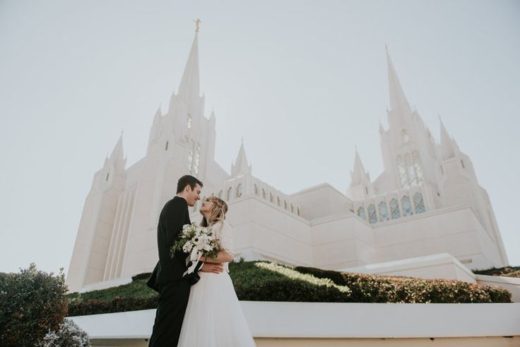 San Diego Temple Lydia + Jacob Photo By Shelly Anderson Photography