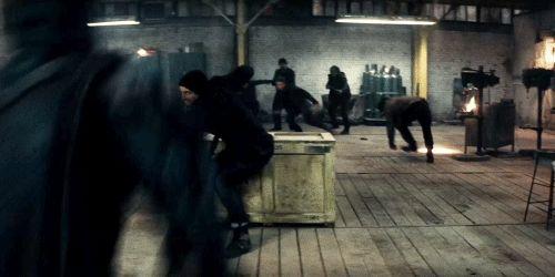 Batman v Superman: Dawn of Justice batman fight action ben affleck