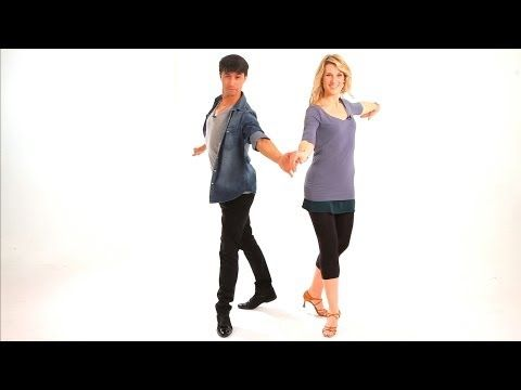 How to Dance Cha-Cha Crossover Breaks   Cha-Cha Dance - YouTube