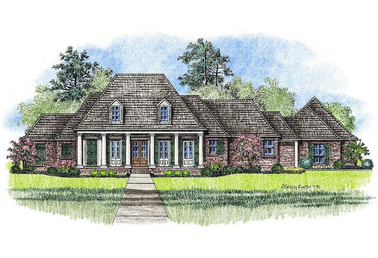 146 best images about house plans on pinterest house for Home plans louisiana