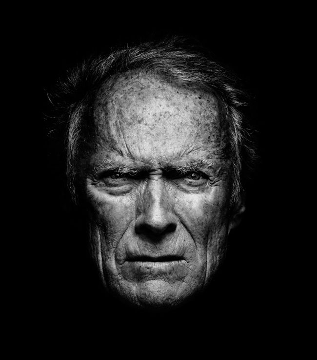 Clint Eastwood - I just love him, no matter how old he is...
