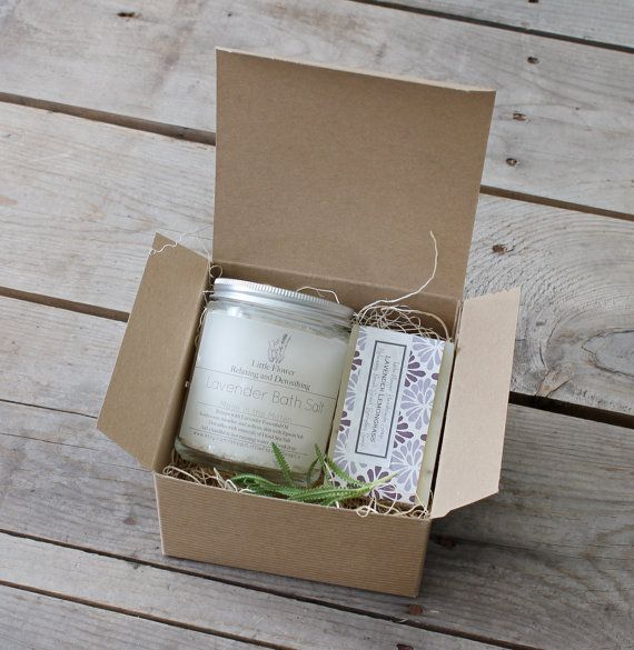 Relax and Restore Set / lavender soap detox bath salts / spa gift for her /bath and beauty body gift ideas friends and coworkers