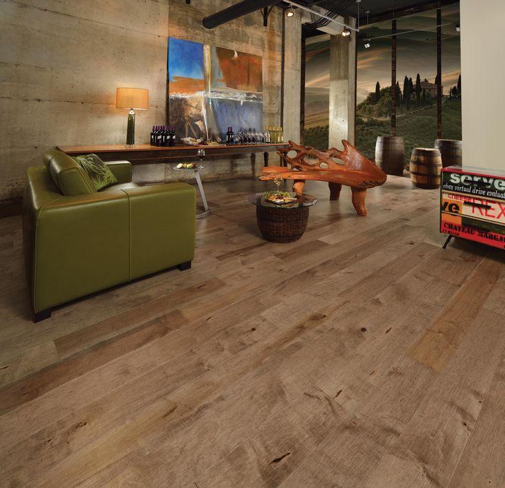 Unfinished Hardwood Floor Cleaner Part - 24: Decoration, Antique Maple Solid Wood Floor: Beautify Your Floor With  Antique Wood Flooring