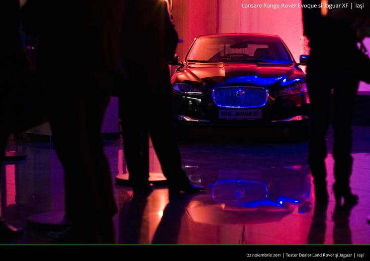 Jaguar XF Launch, Iasi