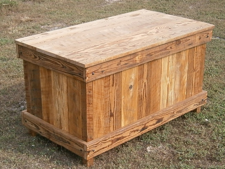 reclaimed barnwood blanket hope chest via etsy - Hope Chests