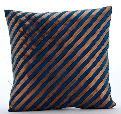 Luxury Teal Blue Decorative Pillows Cover, Modern Pillows... https://www.amazon.com/dp/B016H8Z882/ref=cm_sw_r_pi_dp_x_kcl-yb3488XZ1