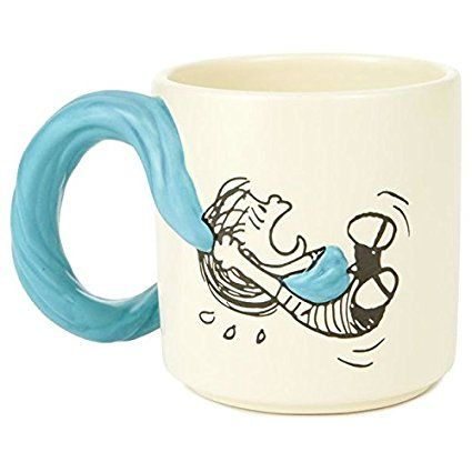 Peanuts Linus and Snoopy Mug, 12 oz.