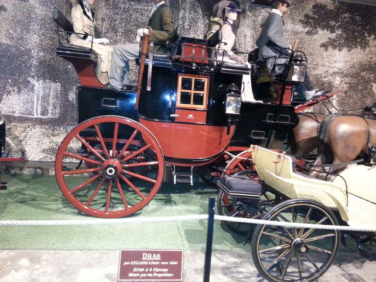 Le Chateau de Vaux Le Vicomte, another example of an 1800s carriage.