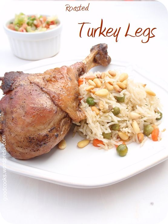 Pan roasted turkey legs with herbs and onion, colorful vegetable rice with toasted pine nuts on the side, adds an elegant weekend meal that you don't want to miss on your table. At first, I w…