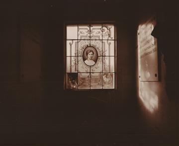 Laurence ABERHART Interior, Tomb, Epernay, France,  22 September 1994  Platinum print