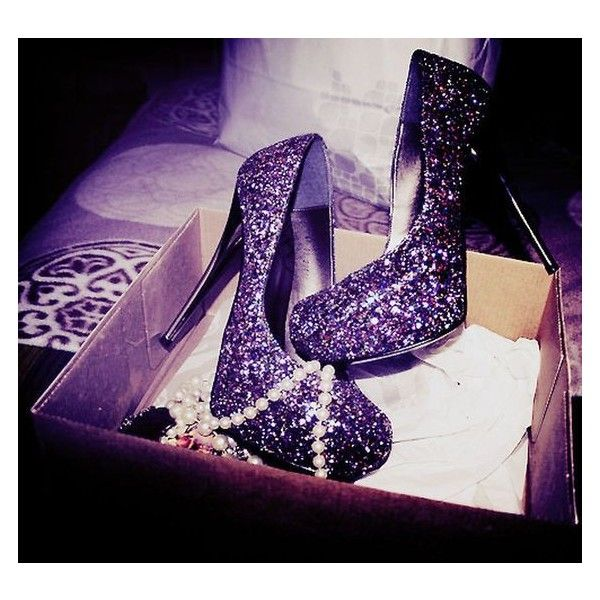 55 Standout Sparkly High Heels with Glitter to Makes You Look... ❤ liked on Polyvore featuring shoes, sparkly high heel shoes, high heel shoes, high heeled footwear, glamorous shoes and wedge heel shoes