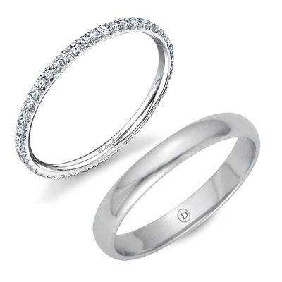 wedding bands - so pretty