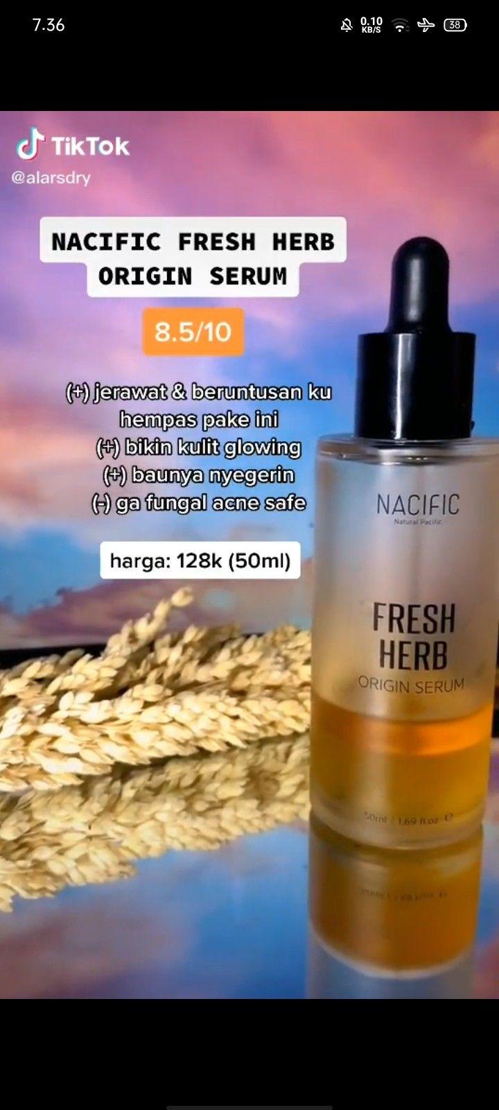 Skincare Nacific Untuk Kulit Berminyak Dan Berjerawat
