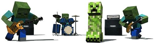 """I think this gif is from a hilarious minecraft song called """"the coal song"""" or I think """"khole""""? It is in a different language but it's so funny and I don't know why"""
