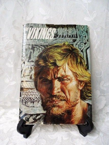 The VIKINGS by Howard La Fay- 1972- Hardcover with Dust Jacket- National Geographic Society- Non Fiction by OrphanedTreasure on Etsy