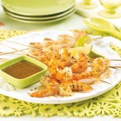 Garlic and Herb Shrimp Skewers - Garlic and Herb Shrimp Skewers - PC - Recipes: Shrimp Skewers, Skewers Garlic, Herbs Shrimp, Yum Yum, Yummy, Choo Recipe, Yum Recipe, Garlic Shrimp, Shrimp Nomnom