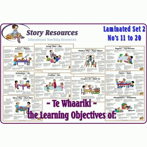 Te Whaariki Objectives Set 2 #11 - 20 Download