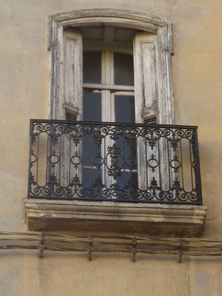 Französischer Balkon - gelb von PieceUnique auf DaWanda.com