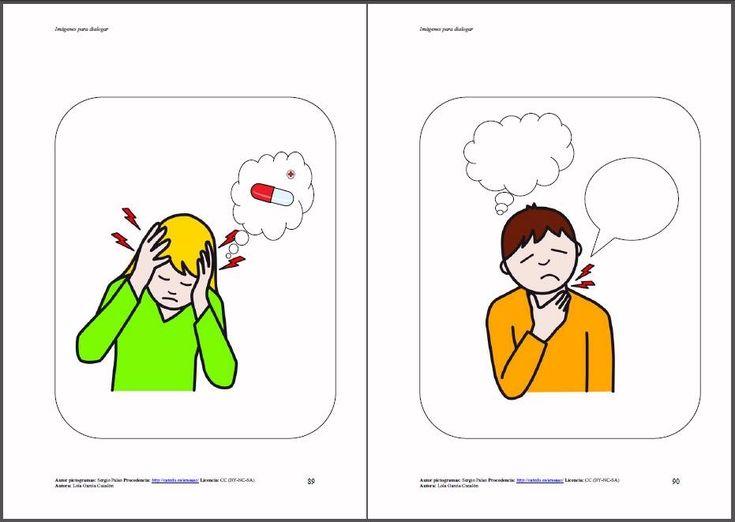 Imágenes para dialogar: Partiendo de la teoría de la mente, a través de una imagen podemos resolver conflictos, solucionar problemas, relacionarlo con nuestras experiencias, expresar nuestras vivencias, comunicar necesidades, dudas, preocupaciones, intercambiar información, anticipar la causa o predecir lo que puede ocurrir y sus consecuencias