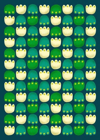 Tulips Art Print | Teja Ideja via Society6