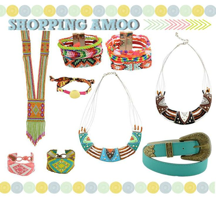 Quer investir na tendência #Navajo? Você encontra os acessórios na Amoo! http://www.amoobijoux.com.br/