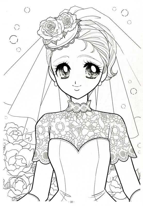983 best Coloring Pages Shojo Anime images on Pinterest