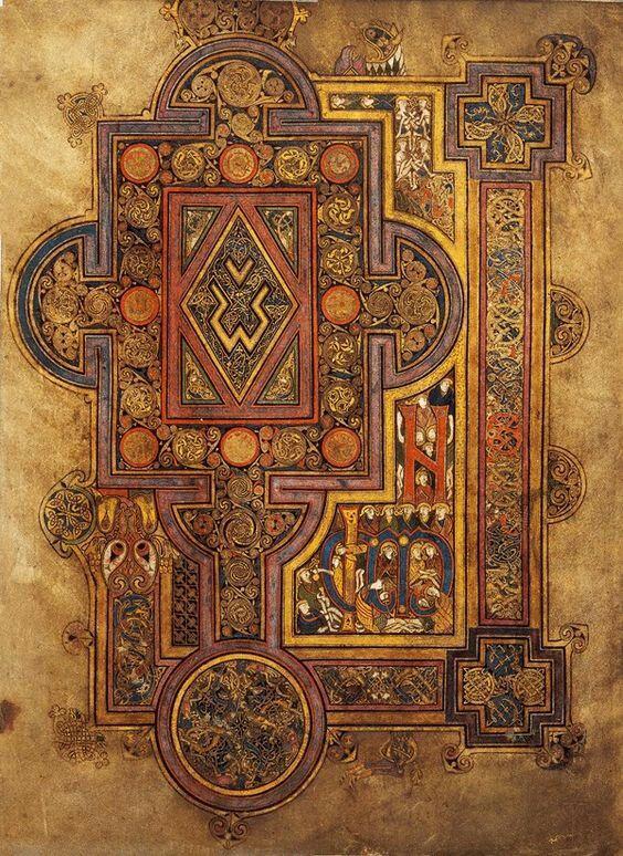 Book of Kells. C800. Trinity College Dublin