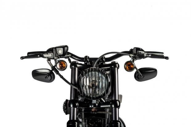 """Studio shots of the """"Rough Crafts Sportster Spoked""""!"""
