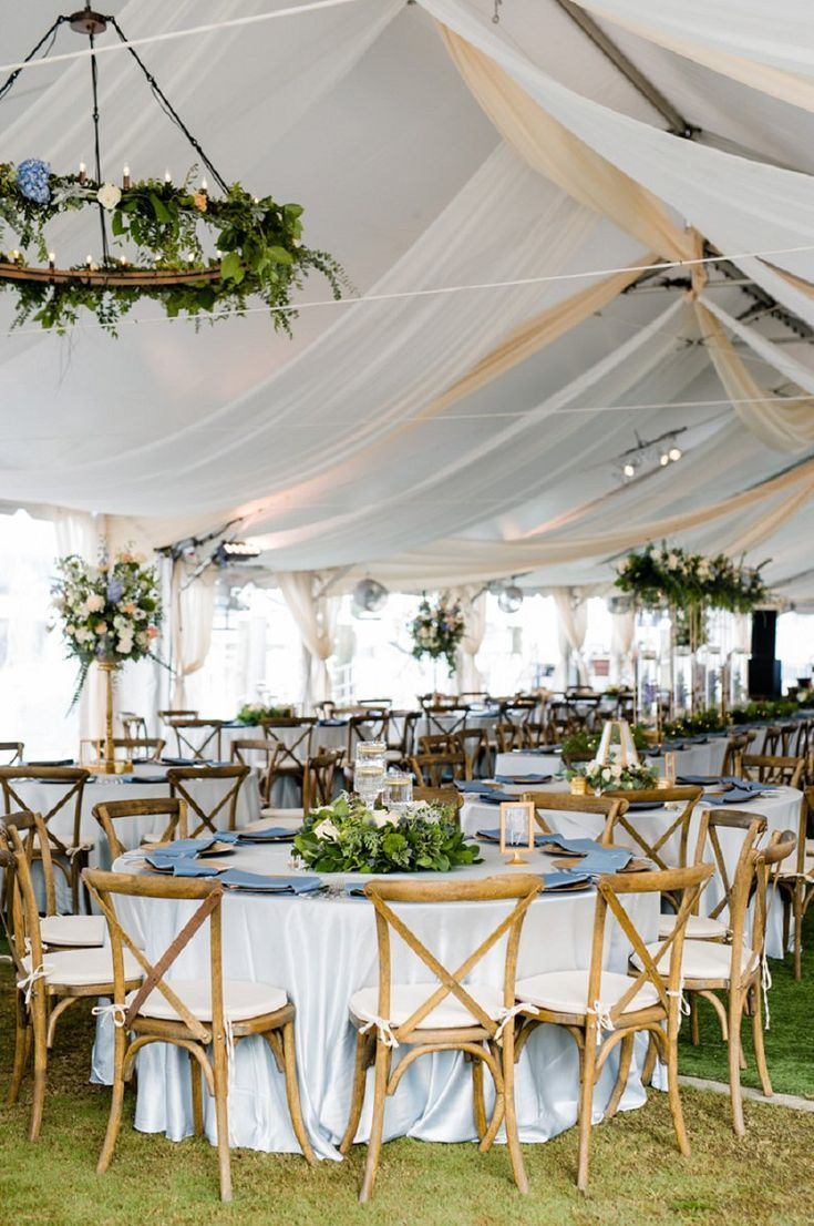 Luxurious yacht club tent wedding #luxuriose #yachtclub #tele wedding
