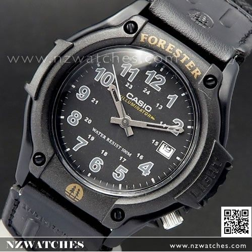 Casio Forester Analog LED Cloth Band Mens Watch FT-500WC-1B, FT500WC