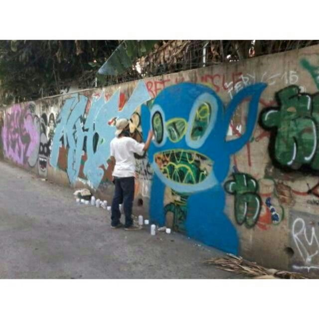 #streetart #vandalism #art #galeri #jalanan #character #stitch #bnr #why #tuns #esa #duart
