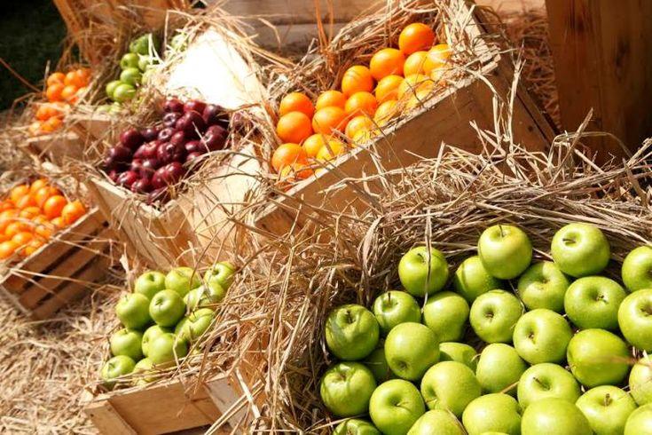 Inspirasi Dekorasi Pernikahan dari Buah-buahan Segar