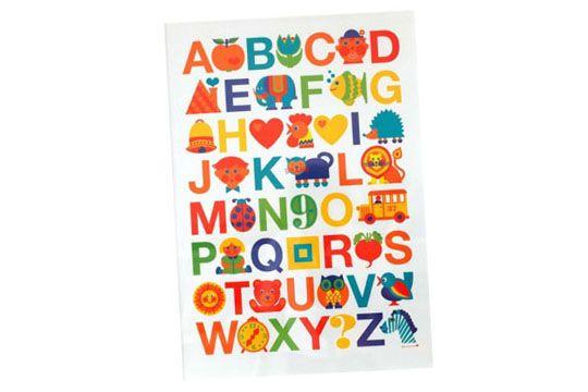Geschenke für die Schultüte: ABC-Poster