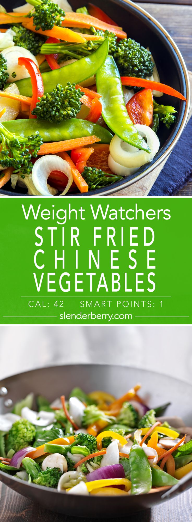 Weight Watchers Skinny Stir Fried Chinese Vegetables Recipe - 1 Smart Point - 42 Calories