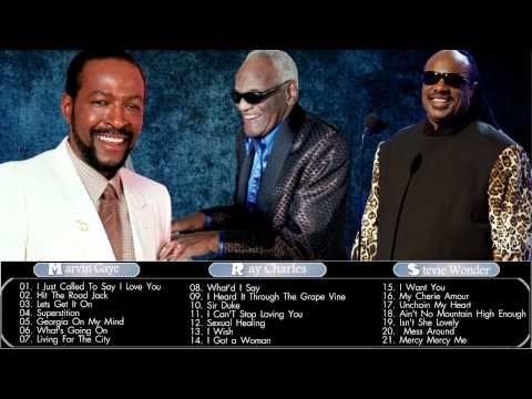 Stevie Wonder Ray Charles Marvin Gaye Greatest Hits Best Of